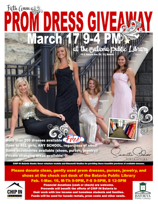 Charity Giveaways Prom Dresses